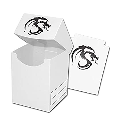 Amazon.com: BCW Premium blanco Deck Box Plus de 2 paquetes ...