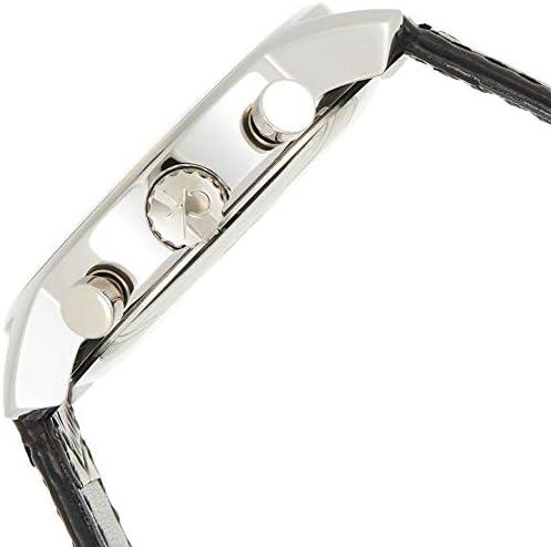 Calvin Klein Montre Homme Chronographe Quartz avec Bracelet en Cuir – K2G271C3