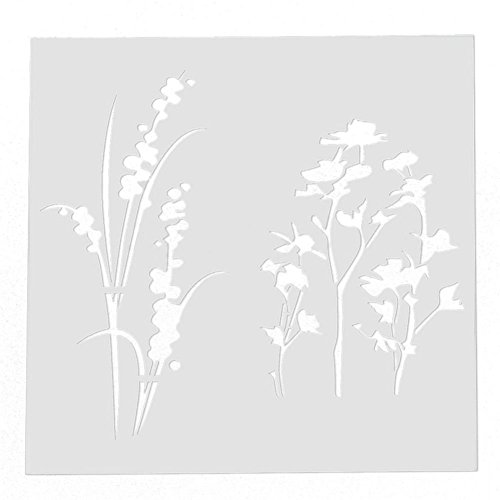 TOOGOO(R) Layering Stencils Mask Templates Scrapbooking Painting Embossing Airbrush Craft by TOOGOO(R) (Image #1)