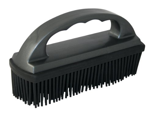 Carrand 93112 Lint and Hair Removal Brush - Rubber Cleaning Brush
