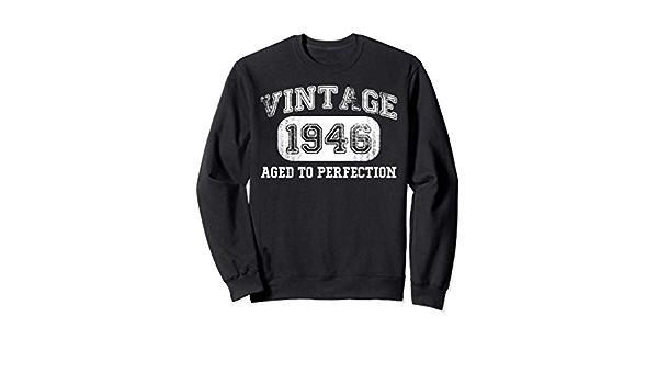 Cadeau 74e Anniversaire 74 Ans Homme Femme D/écembre 1946 Sweatshirt