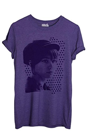 T-Shirt FRANCOIS HARDY POP ART - FAMOSI by iMage Dress Your Style