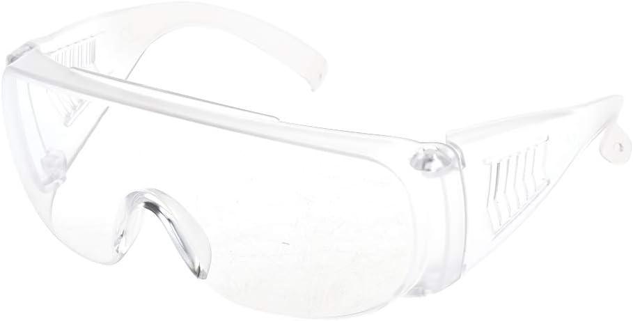 JJCFM 2 Piezas De Gafas, Gafas A Prueba De Viento A Prueba De Polvo Respirable Gafas De Seguridad del Desgaste del Ojo De Vidrios De Protección De Ciclo Anti-Partícula Lente Clara