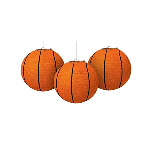 Basketball Paper Lanterns, Party Decoration