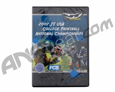2007 JT USA College Paintball National Championships DVD