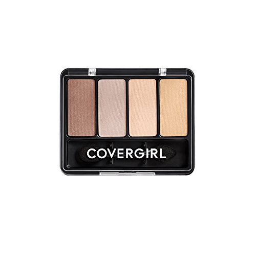 COVERGIRL Eye Enhancers 4-Kit Eye Shadow Sheerly Nudes.19 oz (packaging may ()