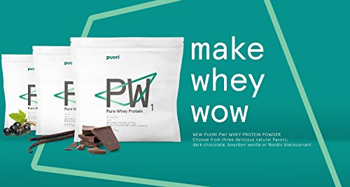 PW1 Pure Grass Fed Whey Protein Shake Powder - Vanilla 31.75 oz. | 30 Serving | Pure, Non OGM Workout Supplement | Natural Mass Gainer by Puori (Image #7)
