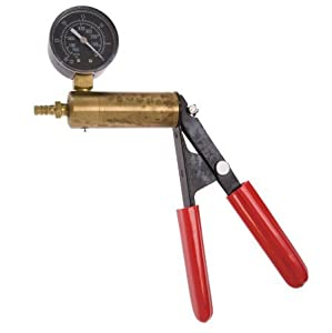 "The Phenom Kit Includes 1.75 ( 1 3/4 )"" x 9 "" Penis Vacuum Cylinder + Solid Brass Cylinder and Steel Handle Frame Hand Operated Design Vacuum Pump Pressure Gauge with Dual Calibration Vacuum Gauge + Hose Attachment with Male and Female Connectors - No Pil"
