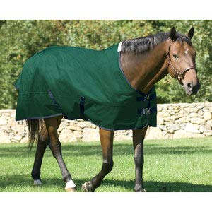 (Dover Saddlery Rider's International Pony Turnout Sheet- Size 58, Hunter/Navy )