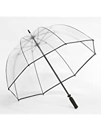 Clear Golf Bubble Umbrella Color: Black Trim