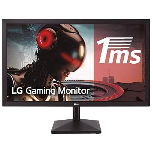 chollos oferta descuentos barato LG 24MK400H B Monitor Gaming FHD de 59 8 cm 23 8 con Panel TN 1920 x 1080 píxeles 16 9 1 ms 75Hz 250 cd m 1000 1 NTSC 72 Color Negro Mate