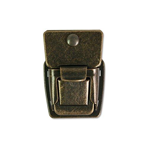 DK851-AG Sakomijo pieces metalliques d'or antique 1 pcs [86] Giappone Himobotan commercio