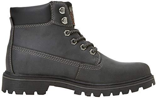 schwarz 43ea201 Para 100 Botas By Dockers Negro Gerli Militar Mujer qnpw8U4w