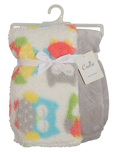 cudlie-double-sided-infant-blanket-printed-sherpa-and-flannel-fleece-backing-owls-print