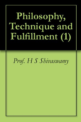 Philosophy, Technique and Fulfillment (1)