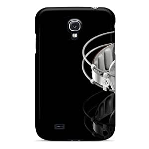 Galaxy S4 Hard Back With Bumper Silicone Gel Tpu Case Cover Headphone Music