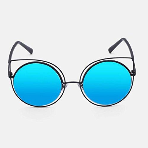 de Gafas de Nueva conducción mujer sol de orejas Regalo sol sol libre al de 3 excursionista protección de Opcional UV400 de aire UV Vendimia Protección Gafas Estrella Personalidad d Azul de para Gafas gato dwrwqTE