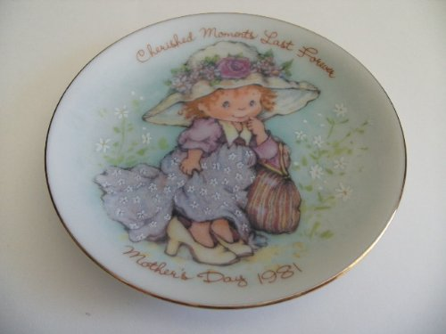 1981 Mother's Day Commemorative Plate