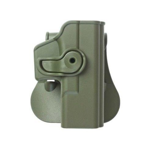 IMI Defense verstellbar drehbar drehung Pistole holster Molle Adapter Befestigung f/ür Glock 19 23 32 polymer Retention Tactical Holster verdeckte Trage POLYMER Taktik ROTO Pistolenhalfter