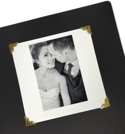360 Count Self-Adhesive Acid Free Photo Corners for Scrapbooks Memory Books ()