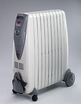 DeLonghi KG010920R - Radiador de aceite, 2000 W, color gris: Amazon.es: Hogar