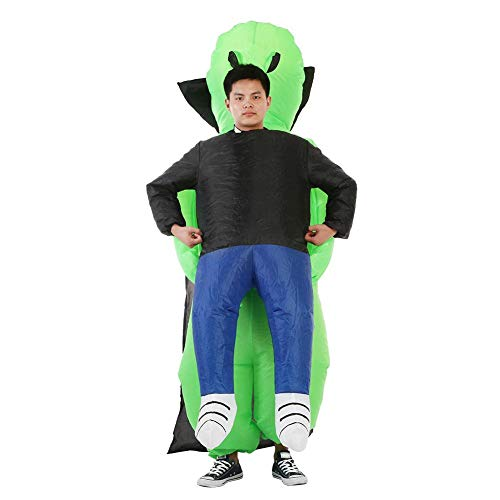 Alomejor Inflatable Costume ET Inflatable Party Clothing Halloween Inflatable Suits Fancy Costume for Halloween