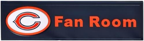 Ventilador creaciones NFL ventilador habitación con texto en ...