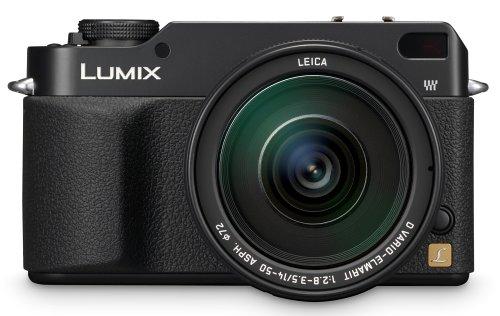 Panasonic DMC-L1 7.5MP Digital SLR Camera with Leica 14-50mm