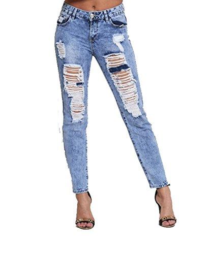 Jeans 1 Q1510 Donna blue Divadames YSzfxY