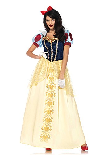 Deluxe Snow White Costume - Small - Dress Size 4-6 (Snow White Costume Womens)