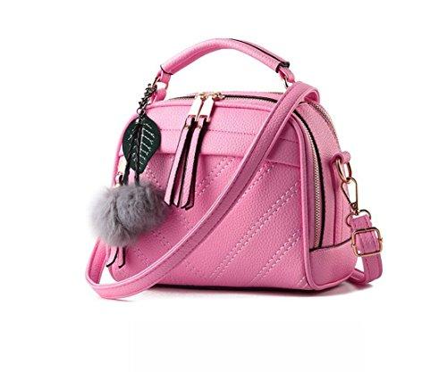 pandasupermarket - Bolso mochila  de Otra Piel para mujer rosa