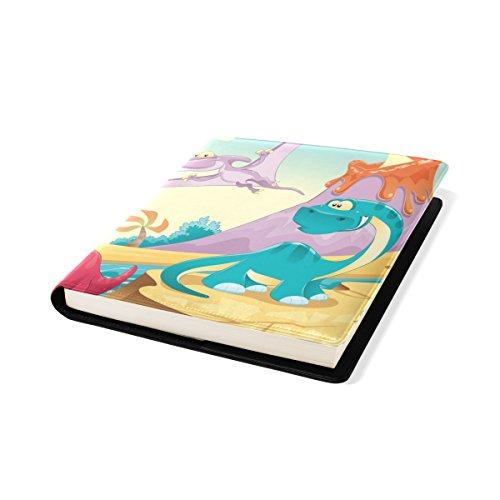 De 11 11 À Adhésif Pu Manuels Book Adaptée Pouces Jusqu'à Stretchable Protector Livre 9 Dinosaur X Couverture Libre Livre La Multicolore Relié Plupart Cuir École Sox Coosun Xaq1A