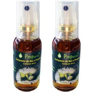 プロポリススプレー 蜂蜜味 (35ml)2本 B008RKS8RC