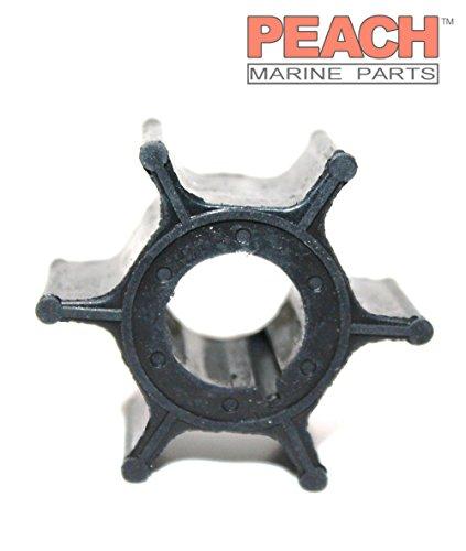 Peach Marine Parts PM-662-44352-01-00 Impeller, Water Pump; Replaces Yamaha: 662-44352-01-00, Mercury Marine: 47-95611M, 47-81242M, Sierra: 18-3063, Mallory: 9-45608 Made by Peach Marine Parts