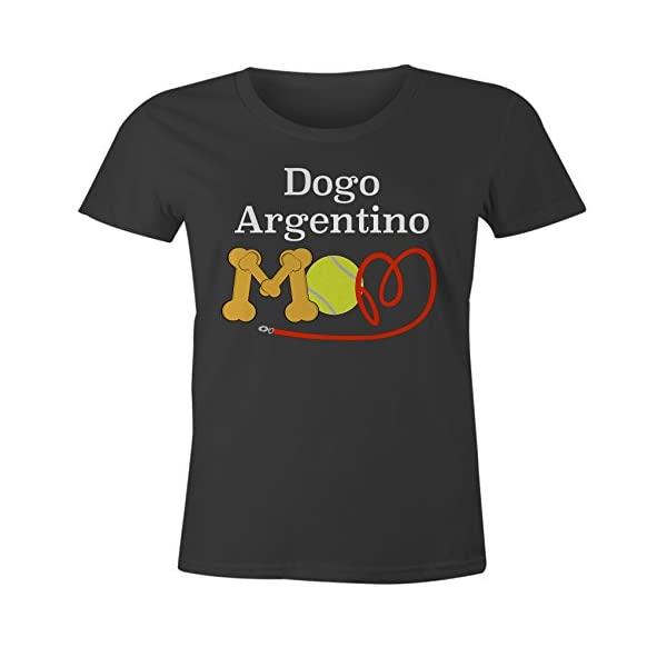 Funny Dogo Argentino Mom Dog Breed T-Shirt 1