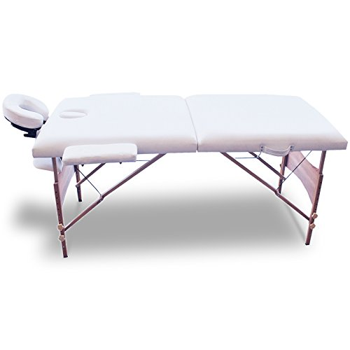 Giantex 84''l Portable Massage Table Facial SPA Bed Tattoo W/free Carry Case (White) by Giantex