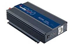 Samlex Pst-100s-12e Pts Series Pure Sine Wave Dc-ac Power Inverter, 1000w Continuous Power Output, 2000w Surge Power Output, 230vac Output Voltage, Low Battery Voltage Alarm