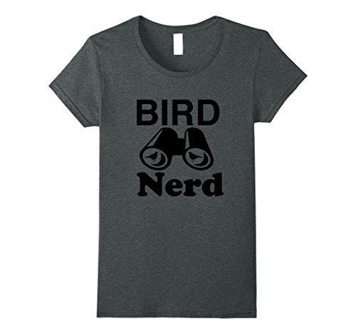 Nerd Day Ideas (Womens Bird Nerd Shirt T-Shirt Father's Day Gift Idea Mens Womens XL Dark Heather)