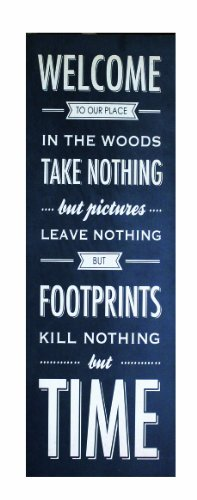 Welcome To Our Place, Take Nothing But Pictures Wall Plaque made our list of Inspirational And Funny Camping Quotes