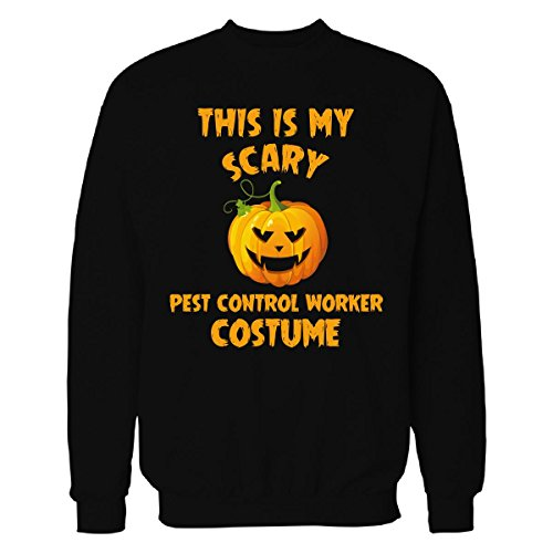This Is My Scary Pest Control Worker Costume Halloween Gift - Sweatshirt Black M -