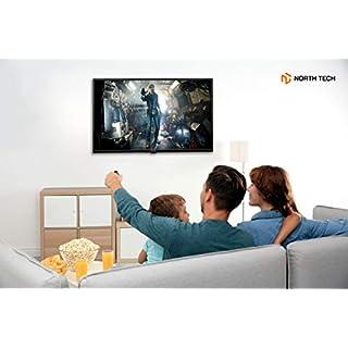 "NT North Tech 32"" LED HD Smart TV - CCD Aspect Ratio:16:9, Response time: 8ms, Resolution: 720P - Wi-Fi | HDMI ARC, Ethernet, USB, Optical (2020)"