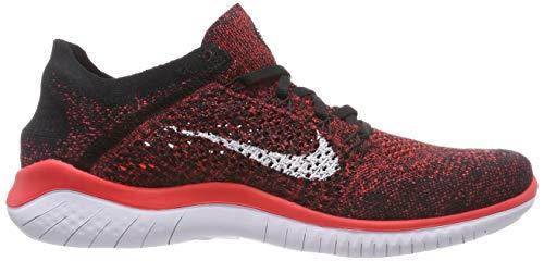 Run Crimson Running Scarpe da 001 Flyknit Black Laufschuh 2018 Uomo White Nike Bright Multicolore Free Hxw0qPgWE