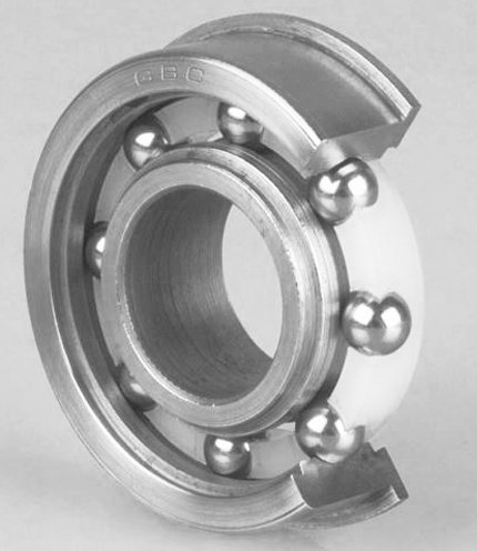 (General Bearing Corporation 33263-88 - Radial/Deep Groove Ball Bearing - Round Bore, 1.0000 in ID, 2.0000 in OD, 0.6250 in Width, Double Sealed)