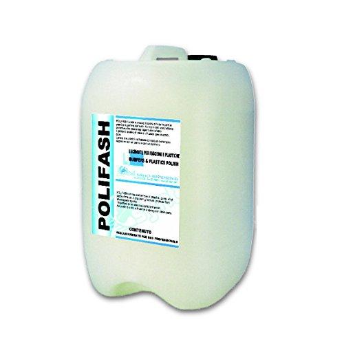 Tanica lucidante protettivo POLIFASH 10 kg per parti esterne in gomma e plastica Synt Chemical