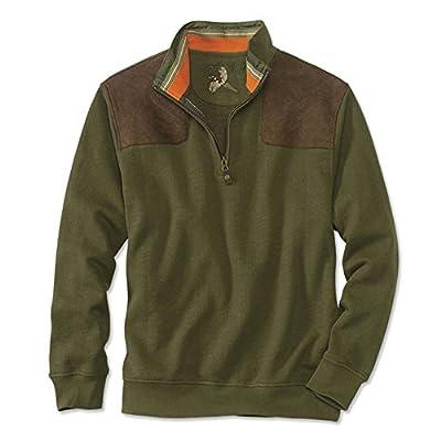 Hot Orvis Men's Southwind Shooting Quarter-Zip Pullover for sale