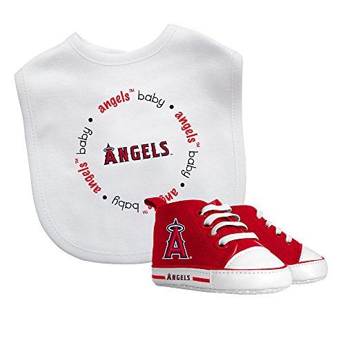 Baby Fanatic Bib & Prewalker Gift Set- Los Angeles Angels