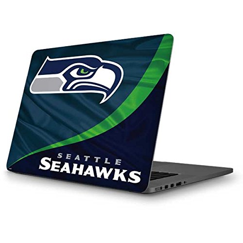Skinit NFL Seattle Seahawks MacBook Pro 13 (2013-15 Retina Display) Skin - Seattle Seahawks Design - Ultra Thin, Lightweight Vinyl Decal Protection by Skinit