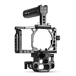 SmallRig Cage for Sony Alpha A6500/ ILCE 6500 4K Digital Mirrorless Camera by SMALLRIG
