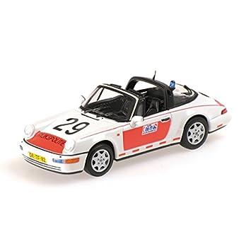 Minichamps Porsche 911 (964) Targa, Rijkspolitie, 1991, Modelo de Auto, Modello Completo, 1:43: Amazon.es: Juguetes y juegos