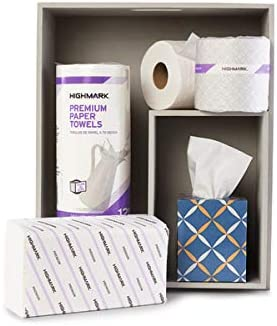 Highmark Premium 2-Ply Toilet Paper, 420 Sheets Per Roll, Pack of 60 Rolls